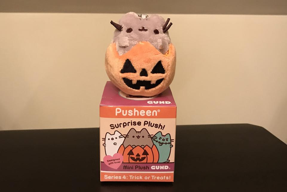 Adorable GUND® Pusheen® Surprise Plush Series 4: Tricks or Treats!