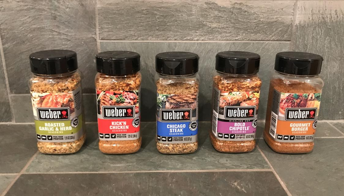 Savory Seasonings by Weber Grill Will Make Your Meals Sing!