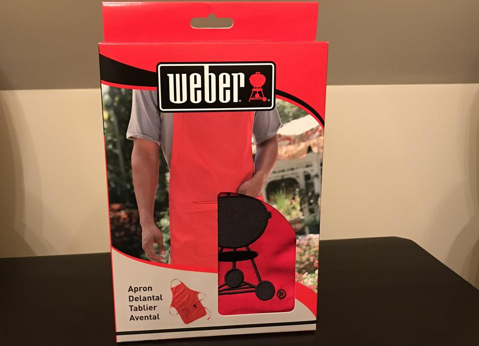 Weber® Apron: Get Ready to Fire Up the Barbecue and Grill Like a Pro!