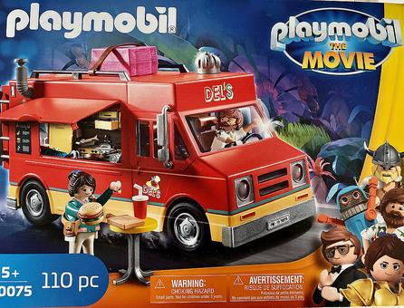 PLAYMOBIL The Movie: Del's Food Truck