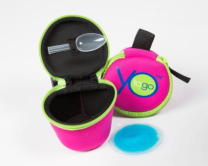 YoToGo Portable Yogurt Container Keeps Yogurt Fresh On the Go