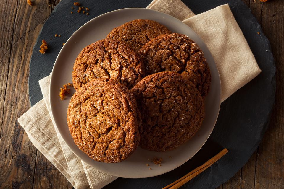 This Gingersnaps Cookie Recipe Has Gingerbread Men Shaking in Their Boots