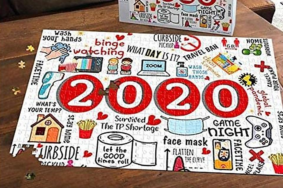 2020 Puzzles: 8 Jigsaw Puzzles That Depict This Crazy Pandemic Year & Make Great Christmas Gifts
