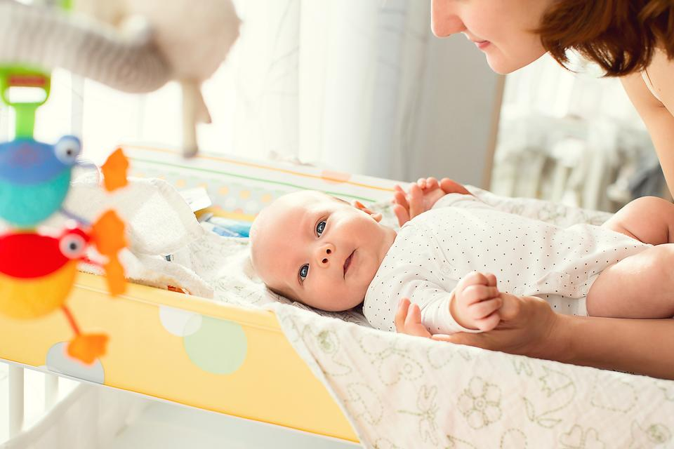 3 Tips to Help You Set Up a Safe Changing Table for Your Baby!