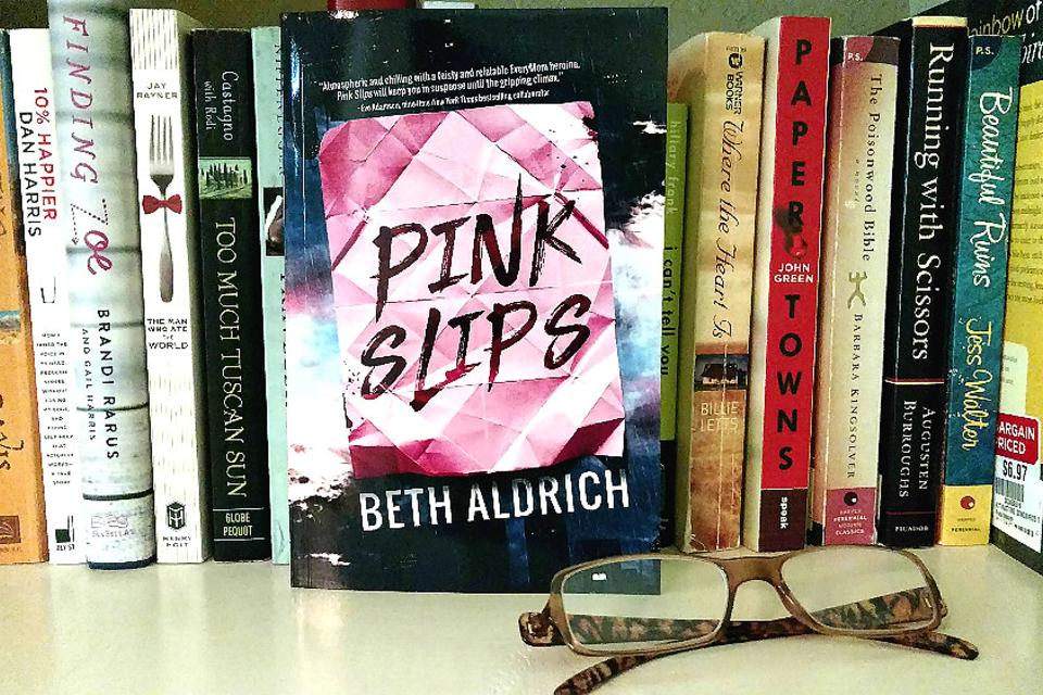 "#30Seconds Book Club: This Month We'll Discuss ""Pink Slips"" by Beth Aldrich!"