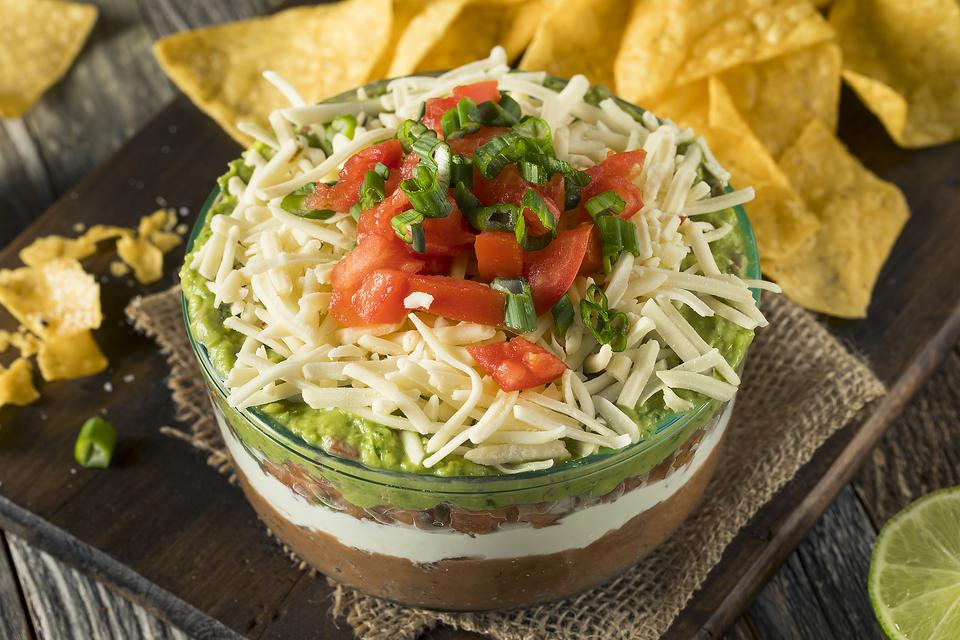 Easy 7-Layer Mexican Dip Recipe: This Delicious 7-Layer Dip Is a Classic Mexican Recipe That Your Family Will Crave