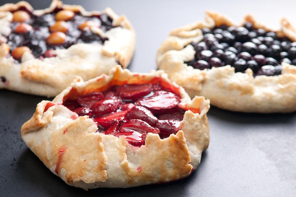 Fruit Galettes: A French Dessert in 60 Minutes or Less? Yes! (You've Got This!)