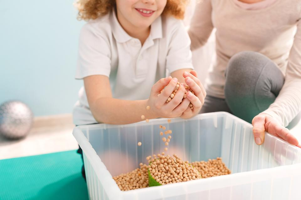 Sensory Play Tubs: Here's a Budget-friendly Sensory Activity Kids Love!