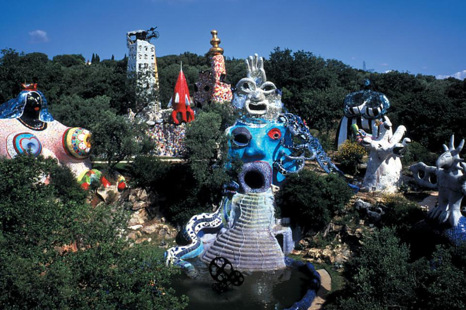 The Tarot Garden: A Remarkable Sculpture Garden in Tuscany, Italy