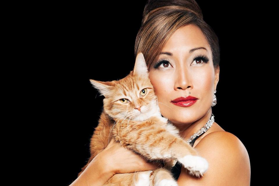 National Cat Day: Carrie Ann Inaba Rallies Cat Owners to See the Vet!