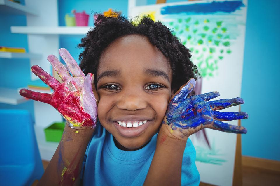 Active Art: 4 Fun Painting Activities for Creative & Messy Play With Kids!