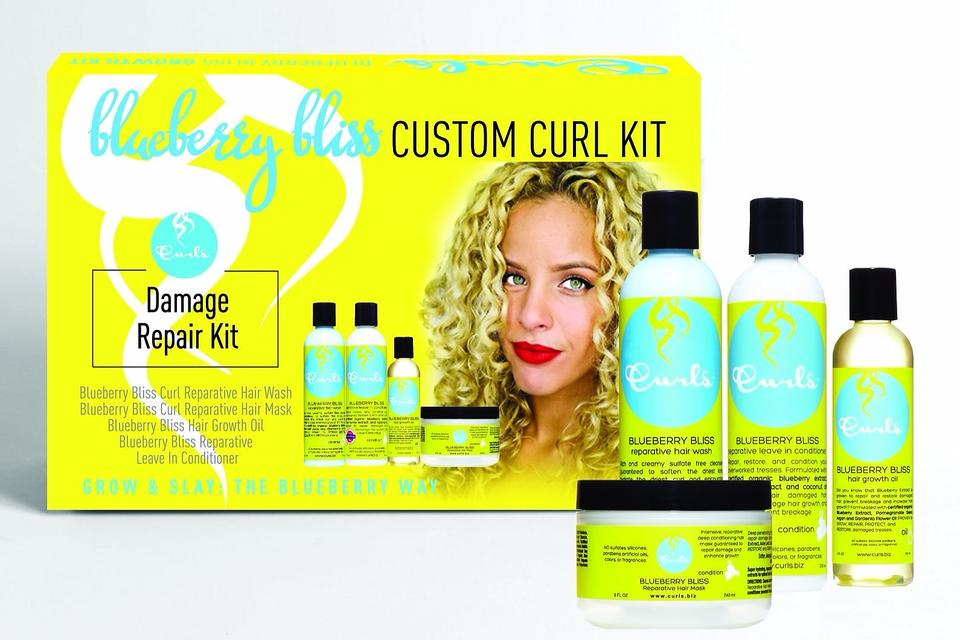 Curls Blueberry Bliss Collection Affordable Amp Effective Damage Repair For All Hair Types