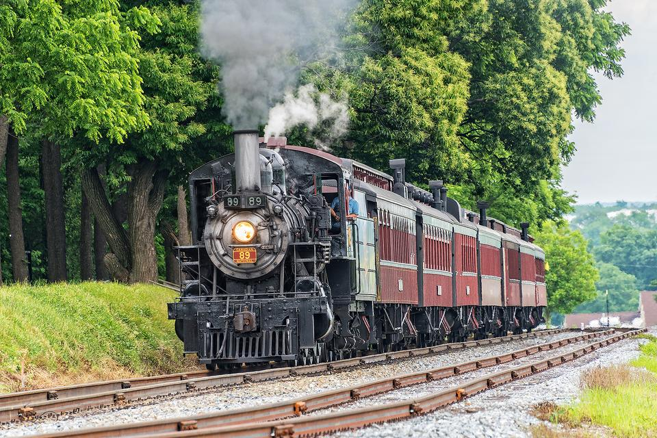 Strasburg Rail Road: All Aboard for a Ride on the Oldest Operating Railroad in America!