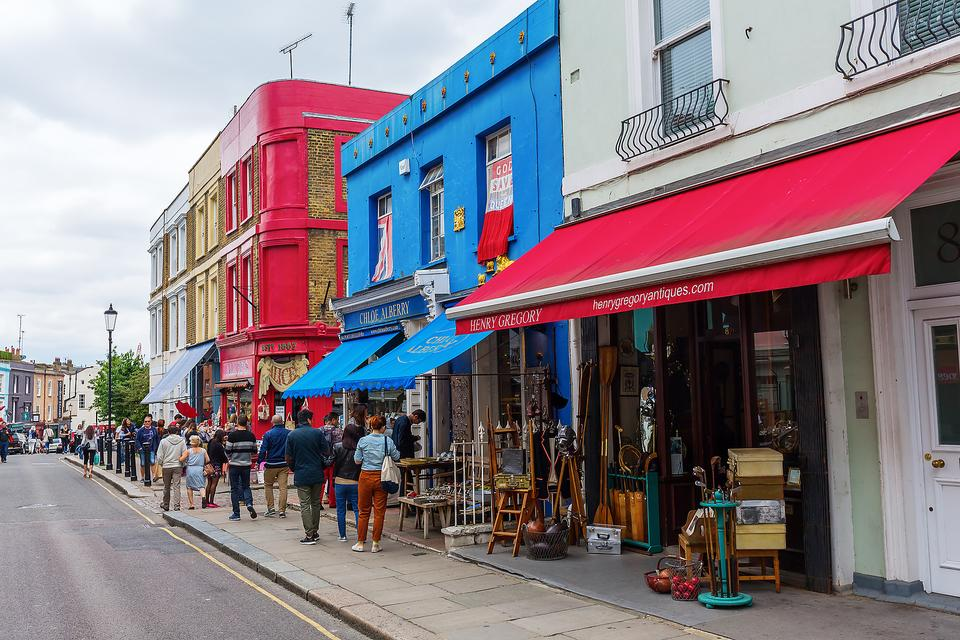 Portobello Road in London: Finding Treasures & History in the World's Largest Antiques Market