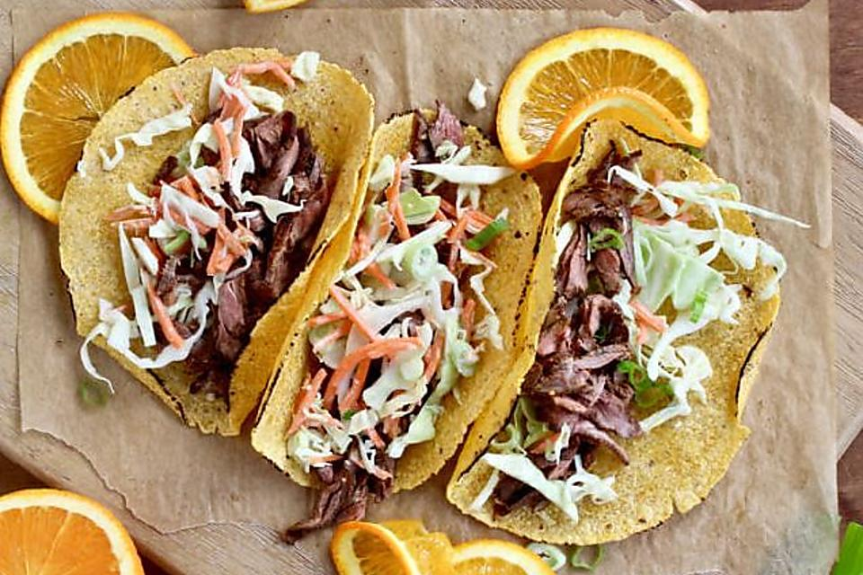 BBQ Skirt Steak Tacos Recipe: Invite Cole Slaw to Taco Night With This 30-Minute Taco Recipe