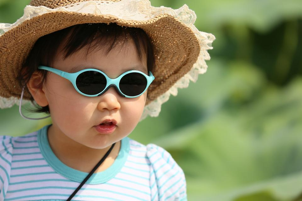 Baby Those Eyes: Why Kids Need Sunglasses Year-round, Too!