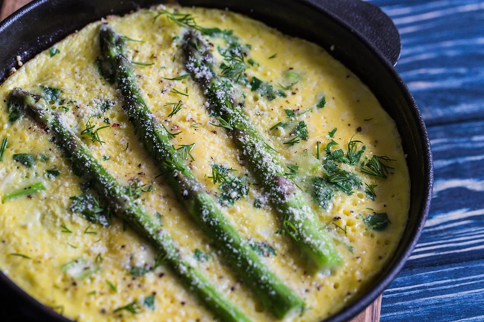 Baked Eggs Recipe: This Easy Baked Eggs With Asparagus Recipe Is What's for Breakfast