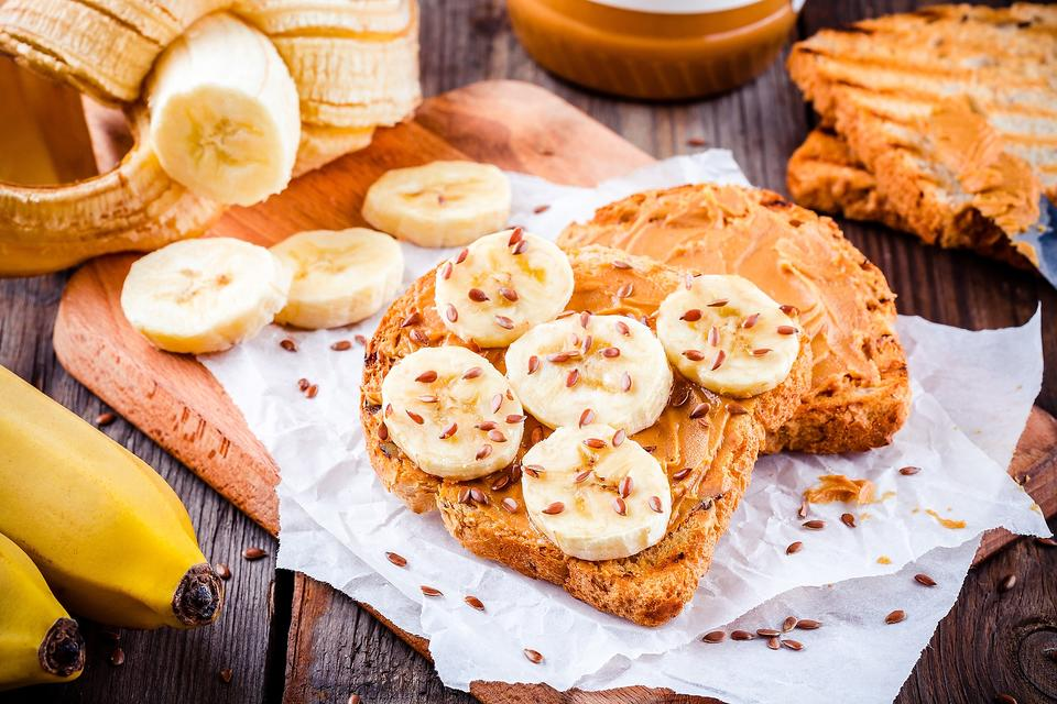 Bananas & Peanut Butter Toast: A Kid Favorite Earns High Nutrition Points!