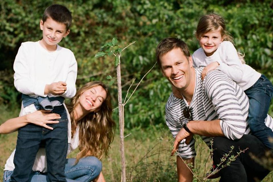 Be Like Tom Brady: Never Be Afraid to Show Your Family How Much You Love Them