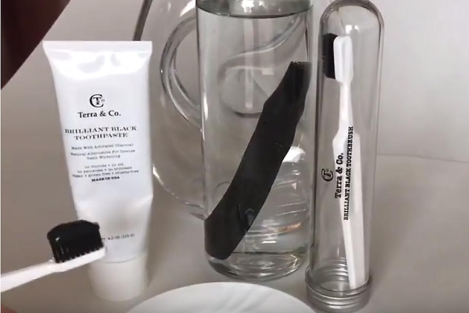 Black Toothpaste? Yep! Terra & Co. Charcoal Toothpaste Works for the Whole Family