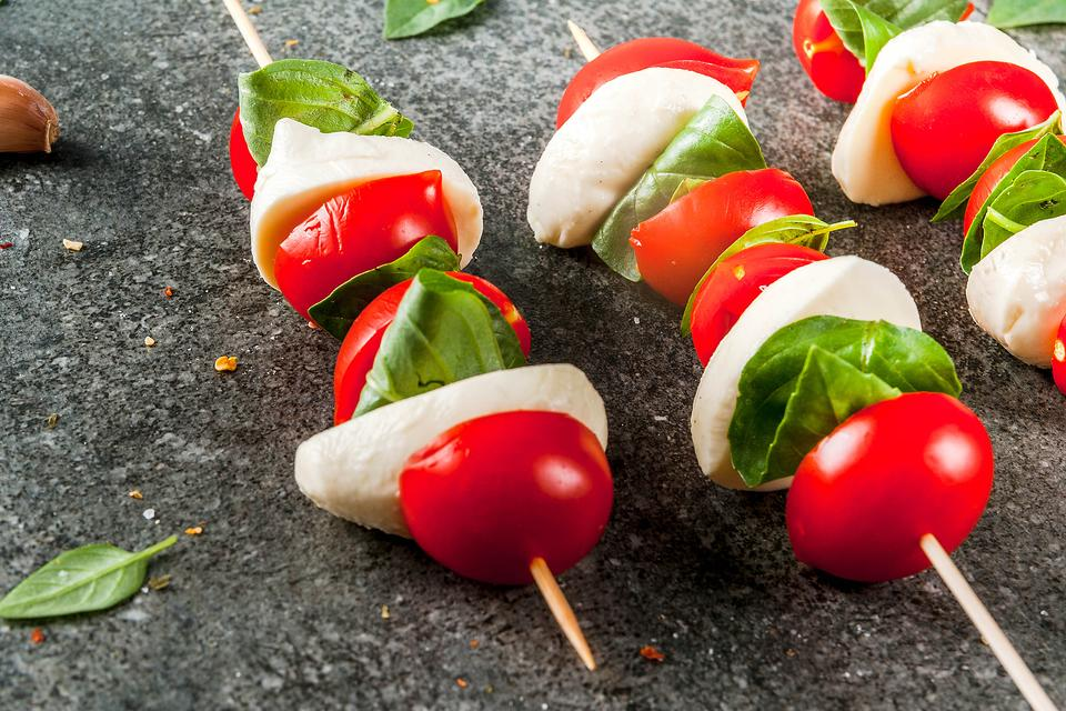 Caprese Skewers: How to Put This Classic Salad Recipe on a Stick
