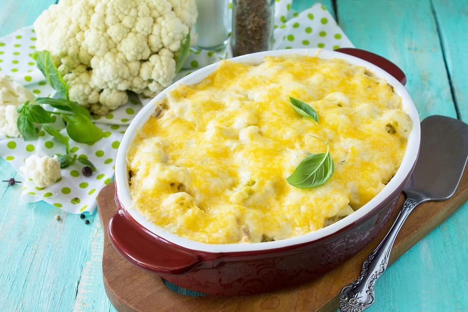 ​Cauliflower Mac & Cheese Will Make a Cauliflower Believer Out of You