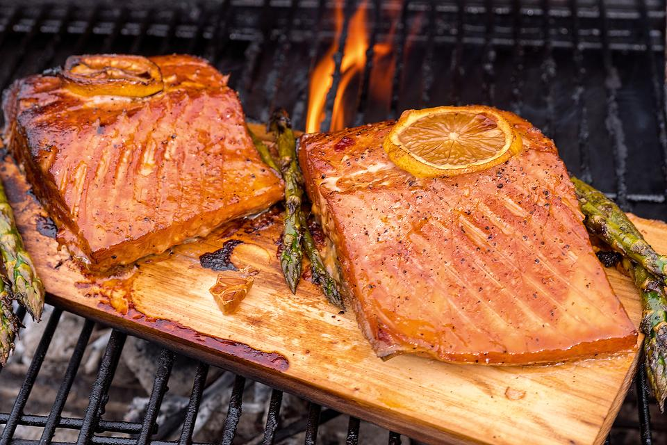 Cedar Plank Grilled Salmon Recipe: This Easy Salmon Recipe Is What to Grill This Weekend