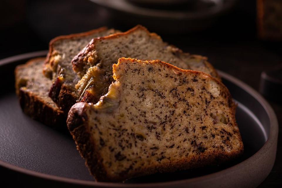 Chef Miriam Cunningham's Famous Kona Inn Dark Banana Bread Recipe: This Banana Bread Has James Beard Roots