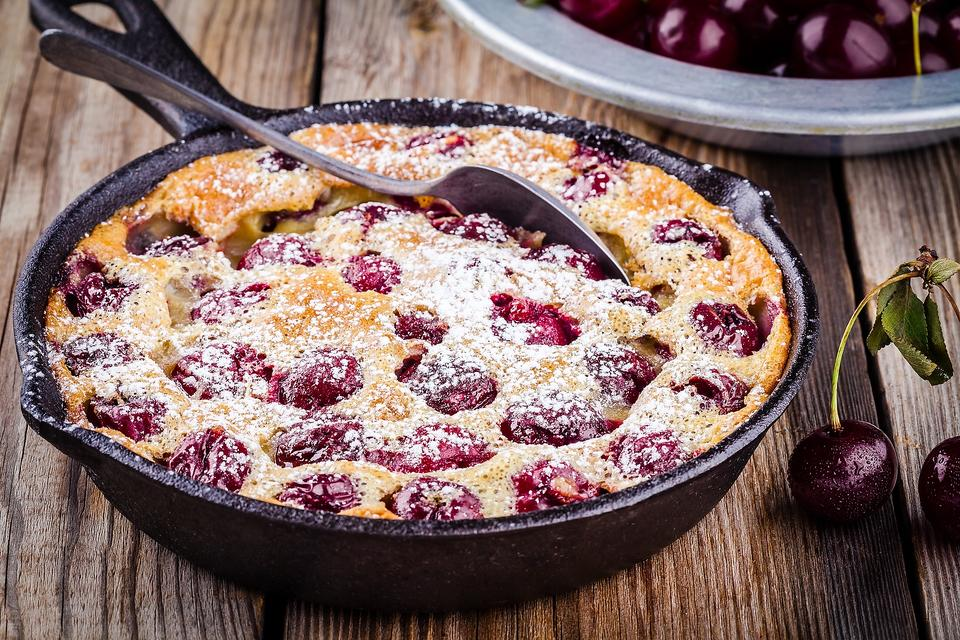 Cherry Clafoutis Is This Summer's Popular French Countryside Dessert