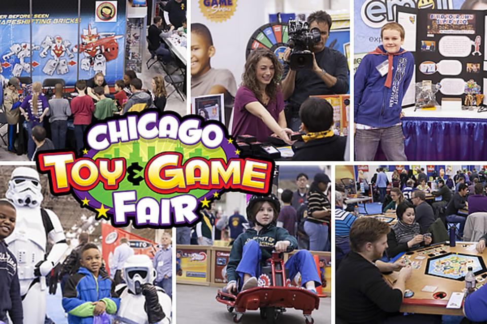 Chicago Toy & Game Fair Is In Town: Parents & Kids, Let's Go Play & Learn With New Toys at CHITAG!