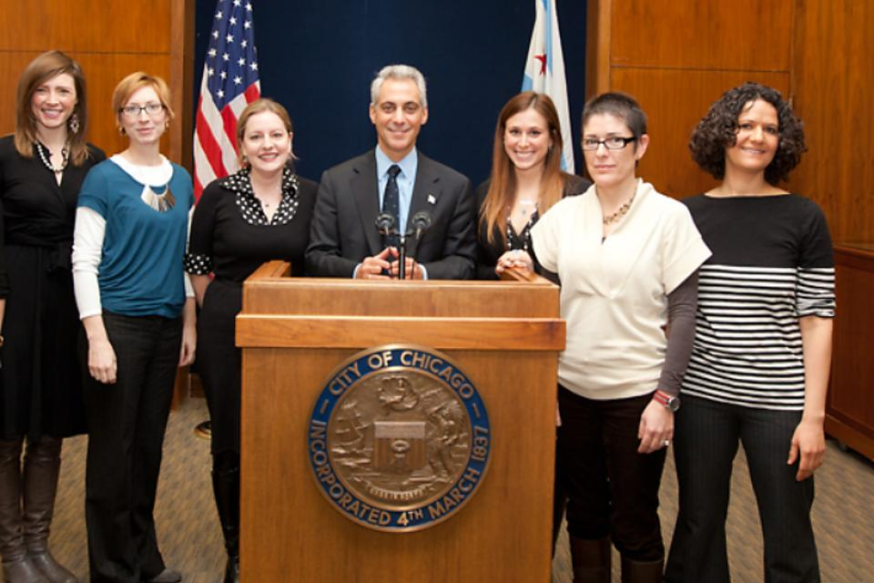 Chicago's Mayor Rahm Emanuel Brings Together Leading Women in Chicago Tech Scene