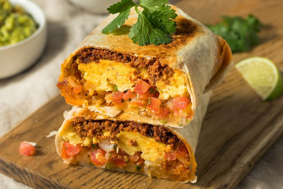 Father's Day Favorites: Wake Dad Up With This Chorizo & Egg Breakfast Burrito Recipe