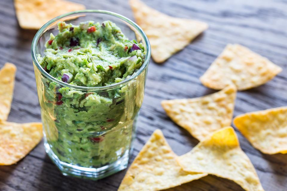 July 4th Parties: Here's a Fun Way to Serve Guacamole or Other Party Dips!