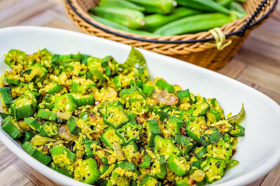 Stir-fried Turmeric Okra Recipe With Coconut: Easy 5-Ingredient Bhinda Nu Shaak Recipe