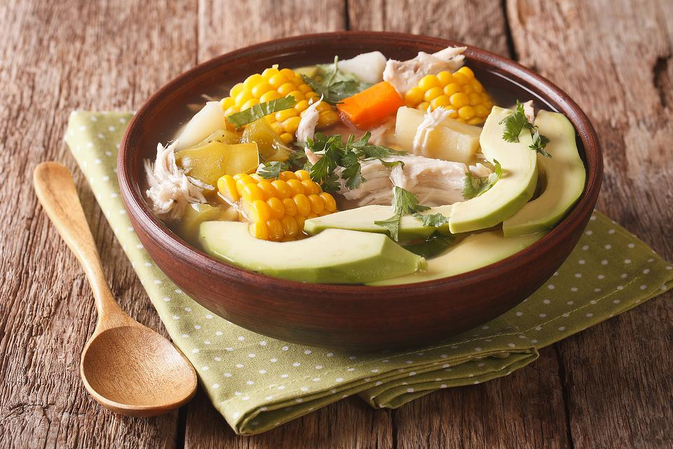 Colombian Ajiaco Recipe: Enjoy This Easy Potato & Chicken Soup Recipe Without Traveling to South America