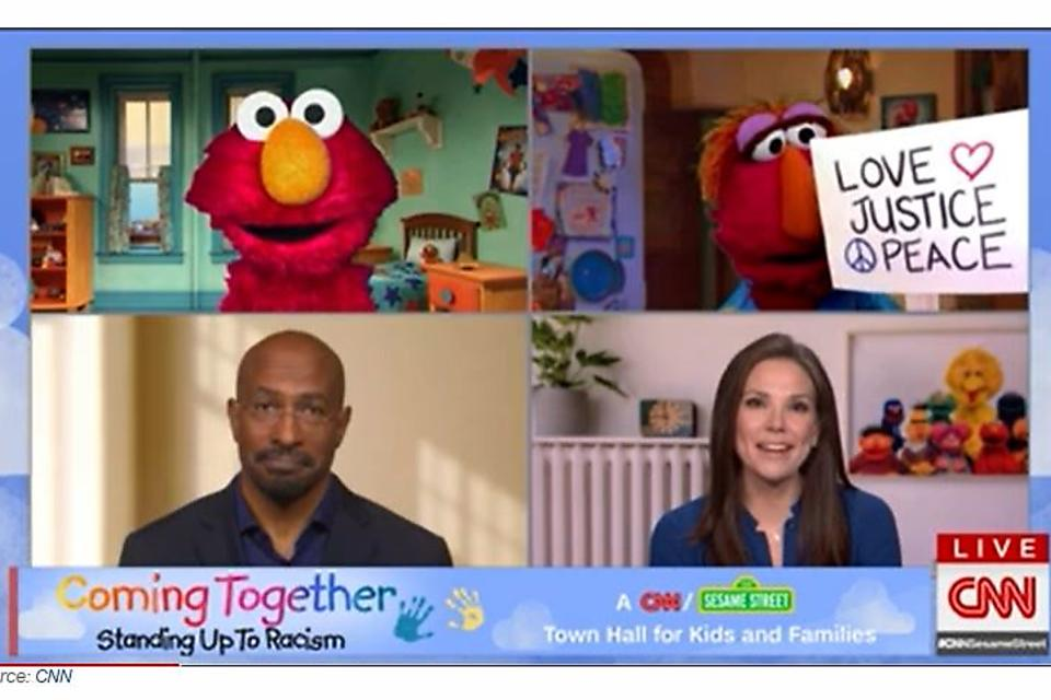 """Coming Together: Standing Up to Racism"": Takeaways From the Town Hall About Racism By CNN & Sesame Street"