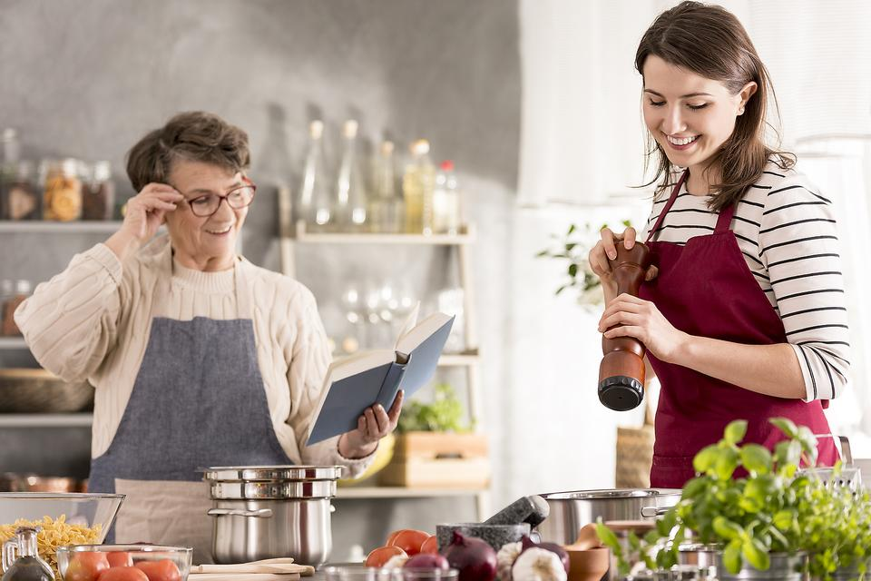 Cooking Across the Miles: Here's a Fun Way to Keep in Touch With Friends & Family