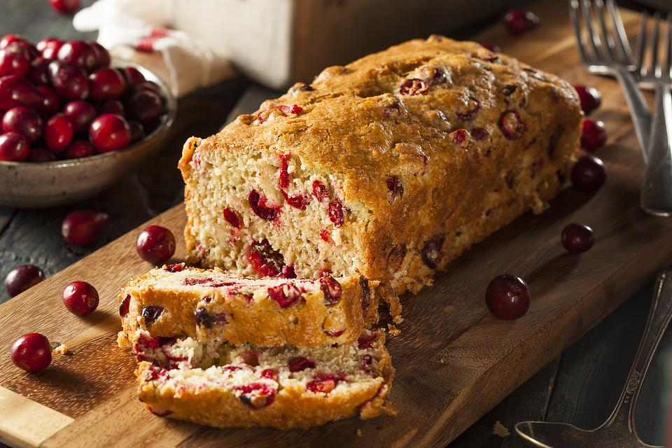 Quick Bread Recipes: How to Make Cream Cheese Cranberry Bread!