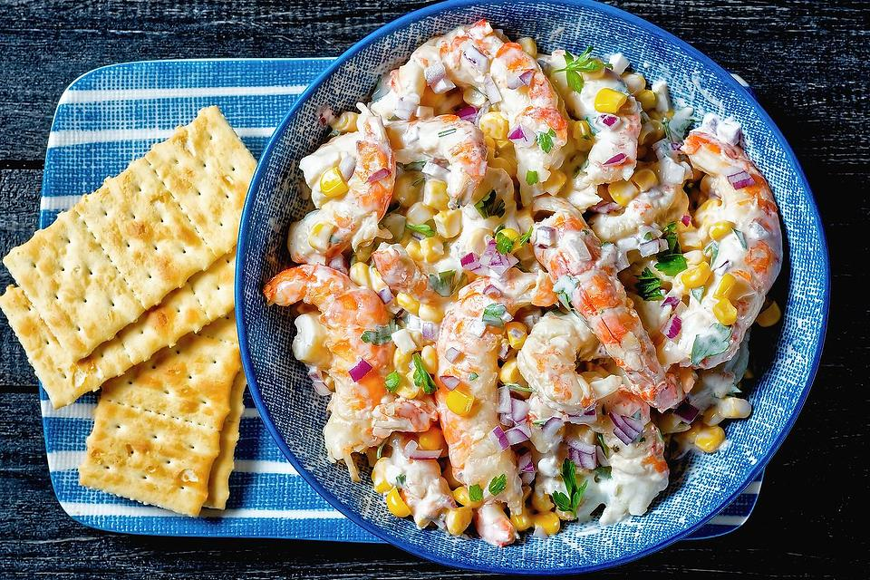 Shrimp Salad Recipes: You Won't Be Able to Stop Eating This Creamy Shrimp Salad With Corn Recipe