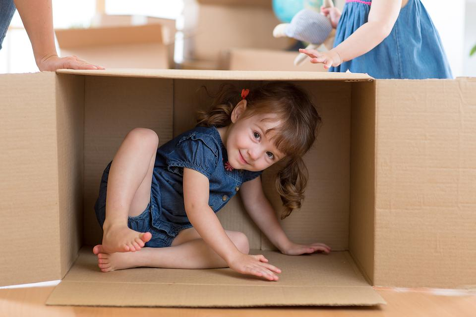 Recycled Fun: How to Recycle Cardboard Boxes Into a Playhouse for Kids