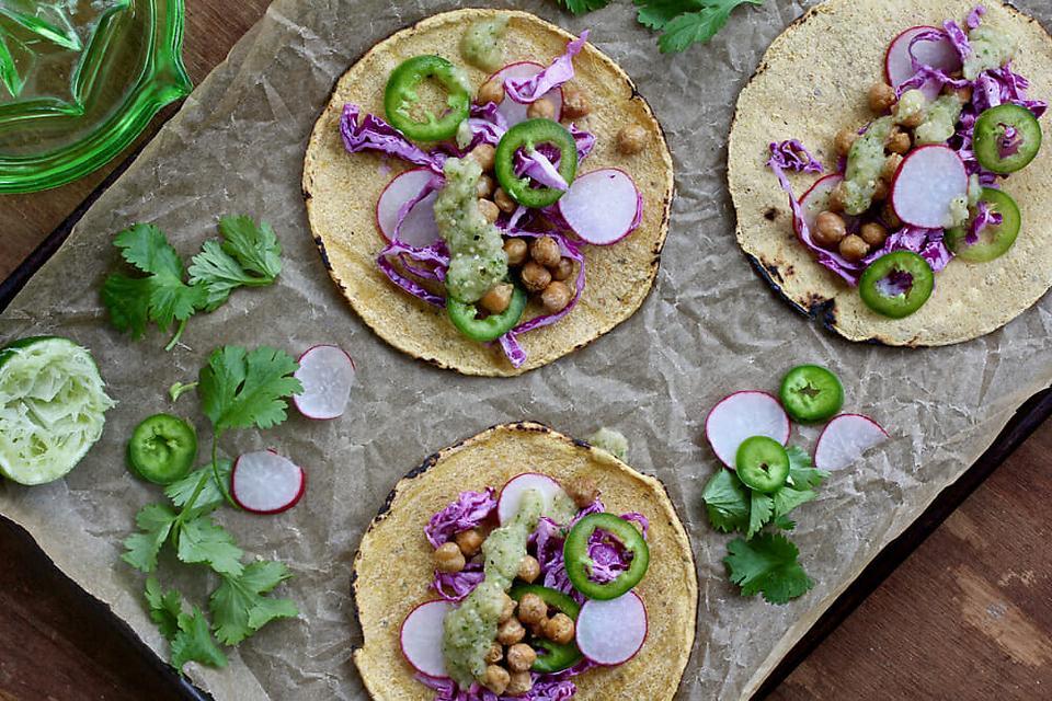 Vegetarian Tacos: This Cumin Chickpea Taco Recipe Lightens Up Taco Night