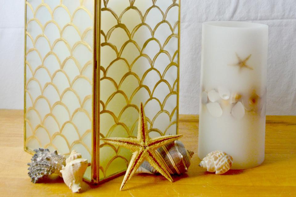 DIY Home Decor: How To Make A Pottery Barn Inspired Capiz Lantern