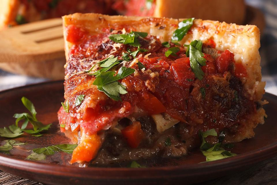 Deep Dish Pizza Recipes: How to Make Delicious Chicago-Style Deep Dish Pizza at Home