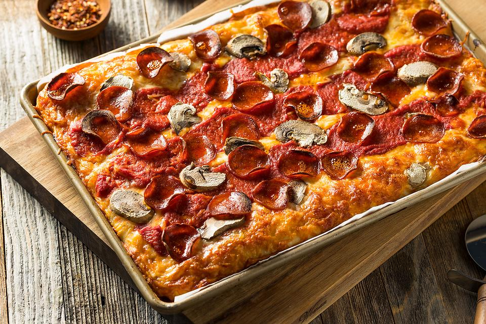Cheesy Detroit-Style Pizza Recipe: This Is the Easiest Detroit Pizza Recipe
