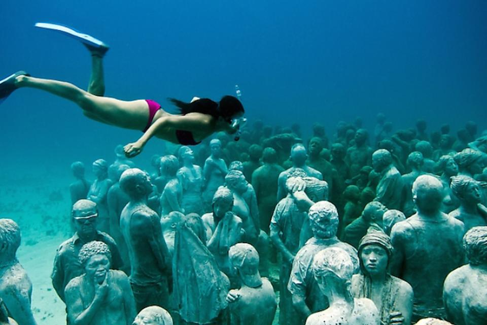 MUSA Underwater Museum of Art in Cancun: Dive Into Art in Isla Mujeres, Mexico