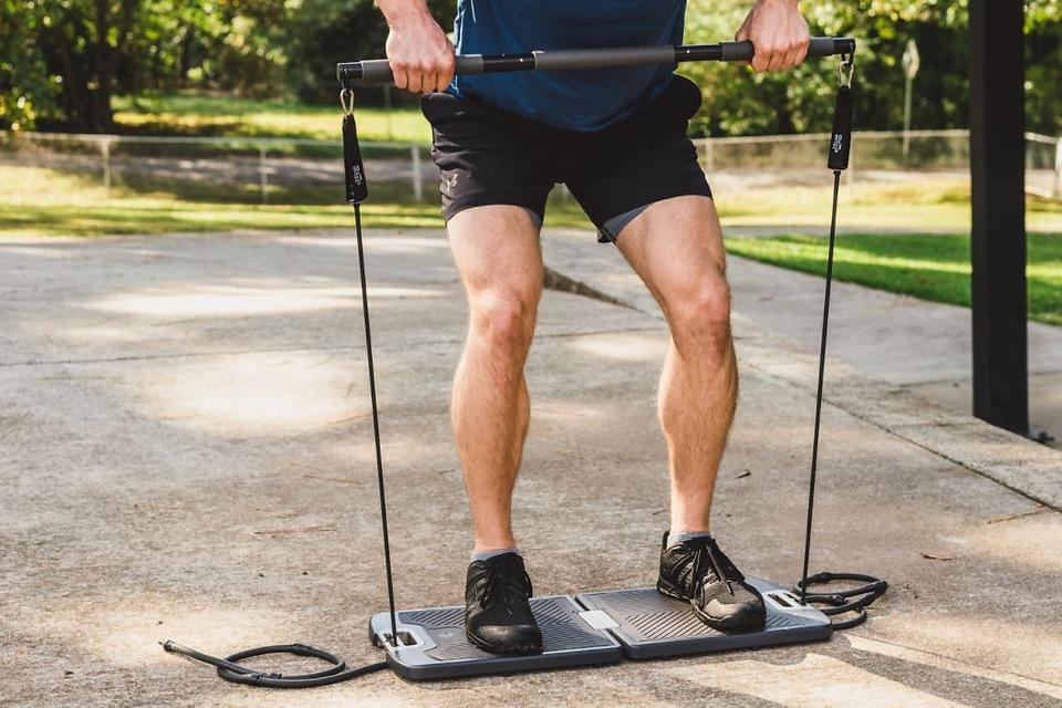 EVO Gym Total-Body Resistance Training System: A Portable & Compact All-in-One Personal Gym for All Fitness Levels