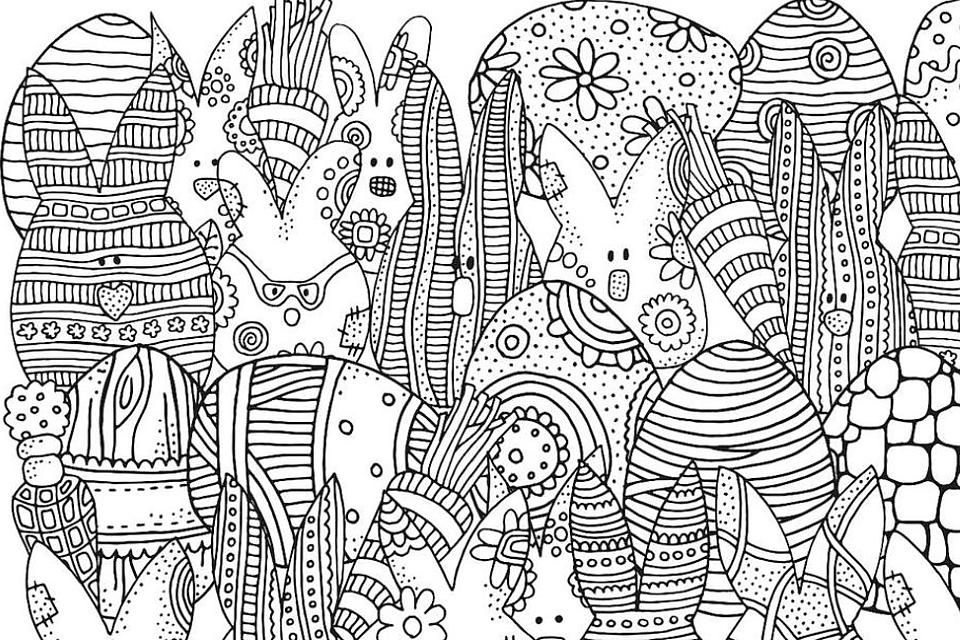 Easter Coloring Pages: Free & Fun Printable Spring-Themed Coloring Pages for Families