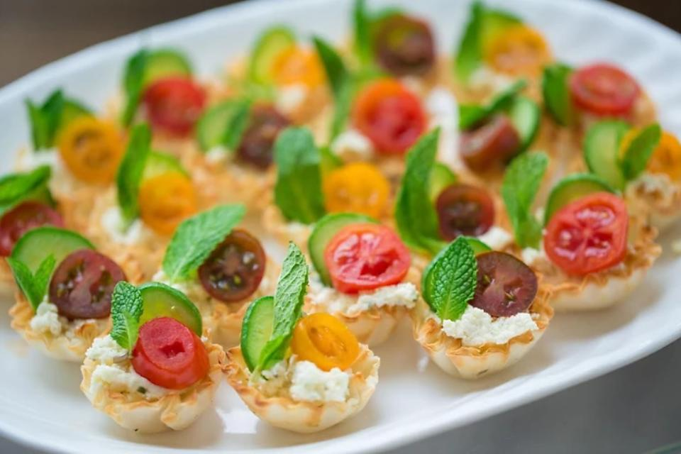 Easy Appetizers: These Caprese Tarts Are Beautiful Bites for Your Guests