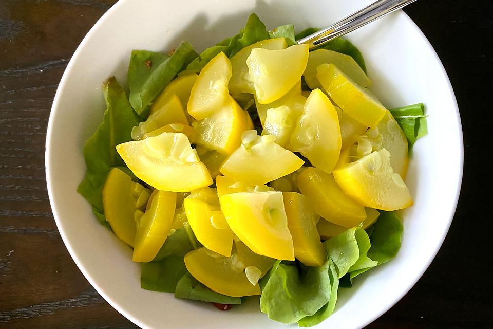 """Easy Butta Zucchini Recipe: This Bright Yellow Zucchini Is Smooth & Creamy – """"Like Butta"""""""