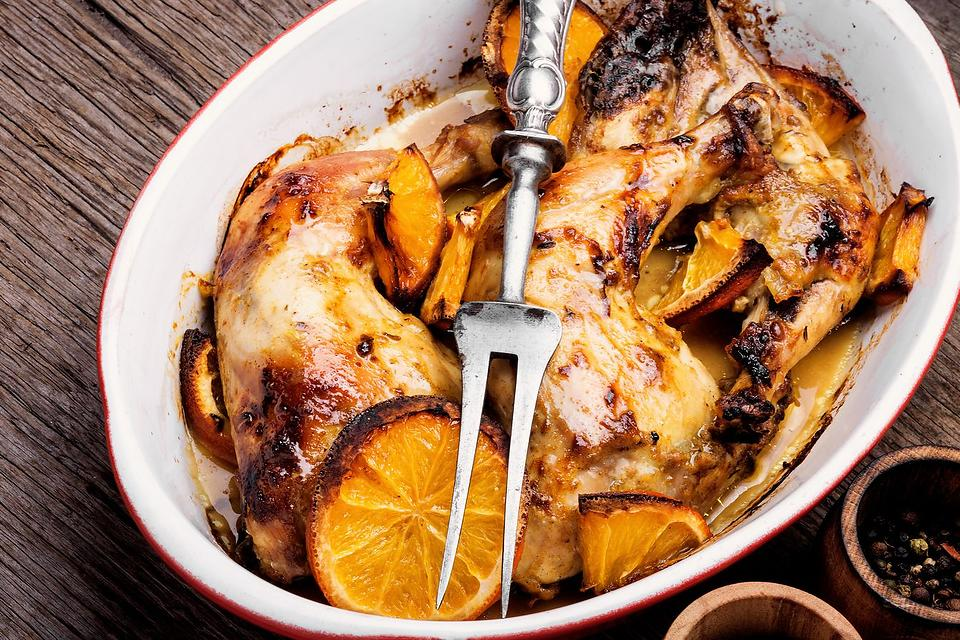 Easy Chicken Recipes: This Orange Roasted Chicken Recipe Is Full of Flavor